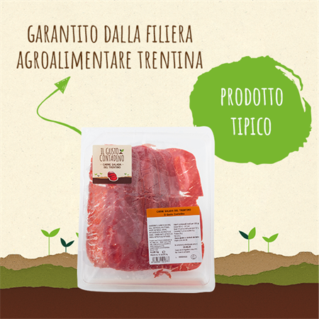 <strong>CARNE SALADA</strong><br>TRENTINA