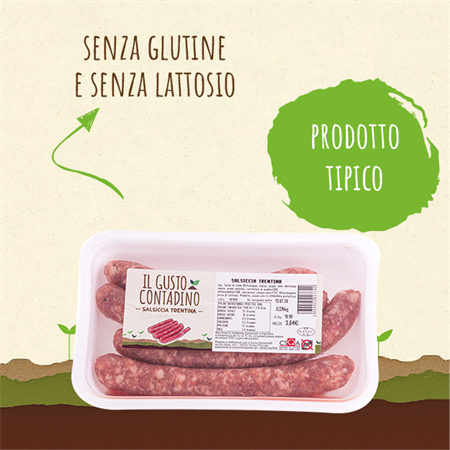 <strong>SALSICCIA</strong><br>TRENTINA